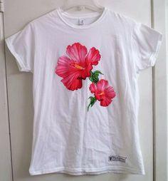 Royal Caribbean Cruise Hibiscus Ladies Shirt Adult 2XL XX-Large