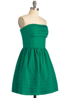 What a Keeper Dress in Green