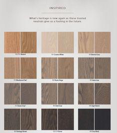 hardwood flooring Gray, greige and gray-brown stain blends for hardwood Hardwood Floor Stain Colors, Wood Stain Colors, Refinishing Hardwood Floors, Staining Cabinets, Oak Hardwood Flooring, Stain Wood, Plywood Floors, Laminate Flooring, White Wood Stain