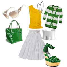 This is really cute. Though long skirts dont look good on me, created by day248.polyvore.com
