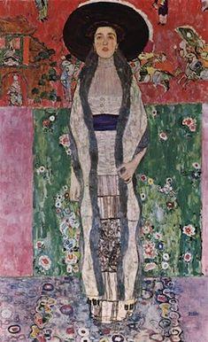Gustav Klimt - Portrait d'Adèle Bloch-Bauer II, 1912, huile sur toile, 190 × 120 cm, Galerie Österreichische