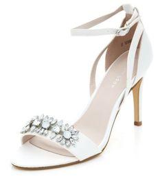 da18810602f Black Pointed Cut Out Ankle Boots. Embellished HeelsAnkle Strap HeelsAnkle  BootsShoe GalleryBridal ShoesWedding ShoesStiletto HeelsOpen ToeGemstone