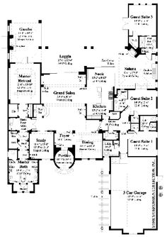 The Sater Design Collection, Inc. Amazing House Plans!!!