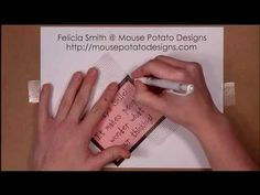 Love this idea! Can't wait to try it. Faux Stitching using Dry Wall Mesh Tape.MP4 (+playlist)