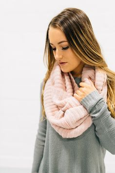 Capsule Wardrobe Women, Blush, Cute Scarfs, Cowgirl Chic, Online Clothing Boutiques, Trendy Clothes For Women, Bff, Infinity, Scarves