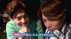 [배스킨라빈스] EXO-K 무비씨어터 팝콘 셀프카메라 (수호&카이)