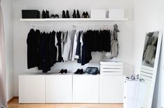 malm ikea walk in closet - Google Search