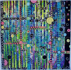 """Louisa L. Smith: """"Obsession"""" Twist and Turn Bargello style"""