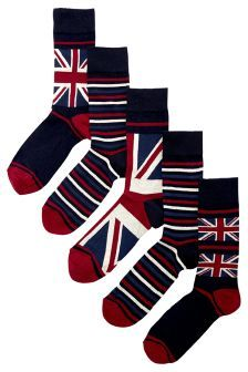 Buy socks in Pattern from the Next UK online shop Buy Socks, Presents For Dad, Union Jack, Next Uk, Uk Online, Fathers Day Gifts, Personalized Gifts, Dads, Pattern