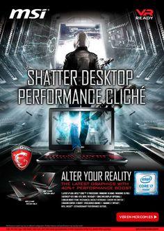 La realidad virtual viene con los portátiles MSI