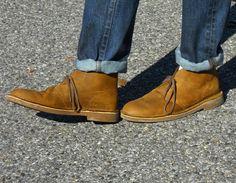 Man Wears Hats: #AEOSTYLE | Clarks Desert Boots