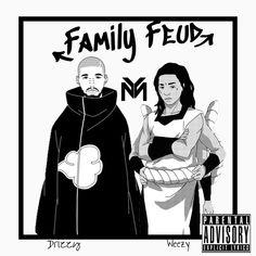 Drake ft. Lil Wayne - Family Feud  Art by Dotnova ----------------------------- - - - - #drake #newmusic #wshh #lilwayne #freeweezy #ymcmb #nikkiminaj #putsomerespekonmyname #blood #naruto #narutoamv #traprap #songoftheday #worldstar #blackanime #philly #albumart #coverart #posterart