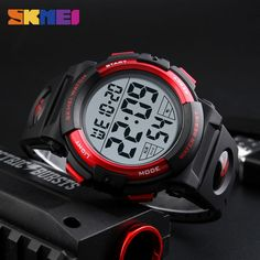 Watches Honey Mens Watch Led Digital Date Sports Army Males Quartz Watch Outdoor Electronics Men Clock For Sports Wristband Running Gift