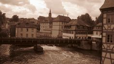"""Bamberg. Aprox. 2h from Regensburg. Easily to arrive by train. Typical from there the """"Rauchbier"""" smoked beer for the picky tasters! Amazing roman catholic cathedral...the city of the 7 hills!"""