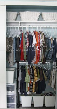 Great closet organization ideas! #organize