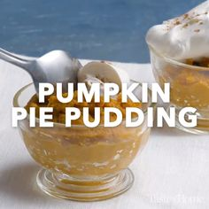 Pumpkin Pie Pudding Recipe by jo Pumpkin Pie Recipes, Fall Recipes, Sweet Recipes, Holiday Recipes, Coffee Recipes, Pudding Recipes, Dessert Recipes, Appetizer Recipes, Impossible Pumpkin Pie