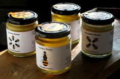 label wrap  London Honey packaging — Selected projects — Red Stone