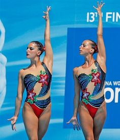 Synchronized Swimming, Gymnastics Pictures, Olympic Athletes, Sporty Girls, Gymnastics Leotards, Sports Women, Cannon, One Piece Swimsuit, Bathing Suits