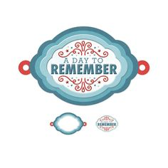 We R Memory Keepers - Red White and Blue Collection - Embossed Tags - Mini Frames - Day to Remember at Scrapbook.com $0.99