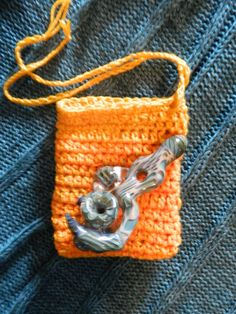 Large Medical Marijuana Crochet  Weed Pipe Pouch by UnicornLincoln, $20.00 ~~~UL