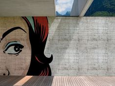 Papel de parede pop art para exterior POP POP POP Coleção OUT SYSTEM ™ 12 by Wall
