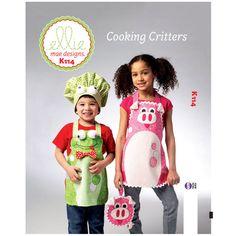 Kwik Sew Cooking Critters Pattern