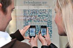 Debenhams QR Code