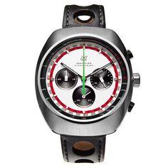 【楽天市場】【アウトドローモ/AUTODROMO】 Prototipo Chronograph Brian Redman Stainless Edition (プロトーティポ クロノグラフ ブライアン・レッドマン ステンレスエディション) 腕時計 メンズ レディース ギフト 【送料無料】:Motorimoda