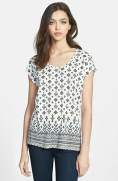 Joie 'Nasa' Linen Tee available at #Nordstrom