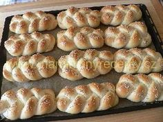 Babiččiny houstičky - My site Christmas Baking, Dumplings, Bread Recipes, Baked Potato, Goodies, Food And Drink, Pizza, Cooking, Ethnic Recipes