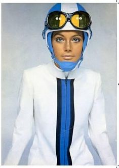 In the 1960s Pierre Cardin's use of stark tunics, goggles and helmets launched the Space Age look. Cardin expanded muscle car interiors. In the first years of the decade, he began to design clothes inspired by science. Some designers are still influenced by the futuristic style that Cardin pioneered.