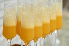 Don't forget the mimosas!