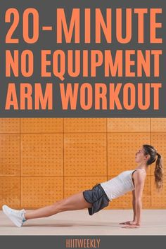 Hiit Workout Routine, Toning Workouts, Bodyweight Arm Workout, Workout Plans, Fitness Workouts, Arm Workouts At Home, Home Exercise Routines, Upper Body Workout For Women, Fitness Workout For Women