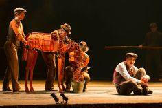War Horse this was an amazing show!!