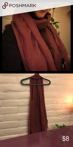Maroon scarf Marion scarf BDG Accessories Scarves & Wraps