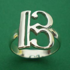 Alto Clef C Music Note Silver Charm Ring Band Size Selectable US 3 - 13. $22.00, via Etsy. I WANT THIS!!!