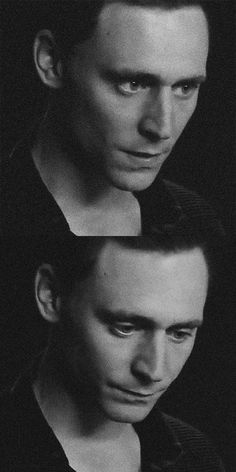 So...after Thor brings Loki back from the Island of Silence, his hair has been cut...remember? So I was thinking that he'd look like Tom Hiddleston, with his hair black of course. :)