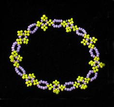 Chain of Flowers - something for Spring. (Translate) #Seed #Bead #Tutorials