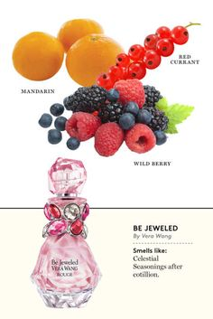 What's New at the Olfactory: 32 New Fragrances for Spring Vera Wang Be Jeweled Rouge -l Perfume Scents, New Fragrances, Perfume Bottles, Vera Wang, Diy Perfume Recipes, Dior, Best Perfume, Perfume Collection, Smell Good