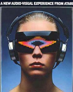 Atari Video Music: 1970s Tech - Oculus Rift eat your heart out.
