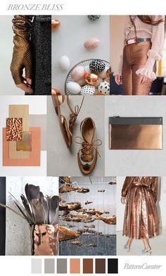 BRONZE BLISS by PatternCurator