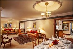 Private Dining at the Luxury Suite, ITC Maurya- New Delhi