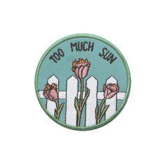 Too Much Sun patch – Rosehound Apparel