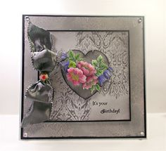 Claire's Crafty Creations: Flowering Baroque Heart from Chocolate Baroque