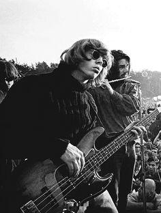 Jefferson Airplane's Jack Casady, 1967. One of my favourite bass players