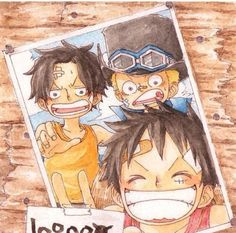 Sabo x Ace x Luffy