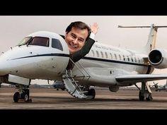 A farra de Rodrigo Maia, presidente da Câmara, com os aviões da FAB