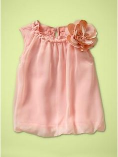 how pretty would this be with a sweet skirt made by me for Easter on Audrey!?!  LOVE!  Baby Gap $24