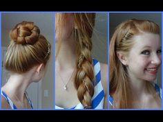 Awe Inspiring Hairstyle For Long Hair Hair Steps And Hairstyles On Pinterest Hairstyles For Women Draintrainus