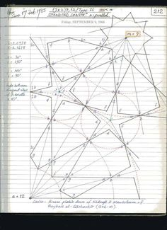 Page 139 of Notes of Islamic Star Patterns by A. Islamic Art Pattern, Arabic Pattern, Pattern Art, Mathematics Geometry, Sacred Geometry Art, Geometric Pattern Design, Geometric Designs, Geometric Drawing, Geometric Shapes